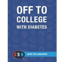 Off to college guide for caregivers book cover